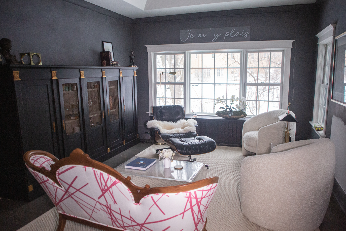 Living Room Remodel by Twice the Measure